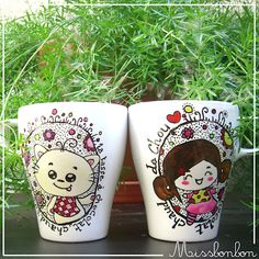Cutey mugs