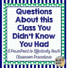 Teaching and practicing classroom procedures is the most important part to back-to-school season! Do it well! $