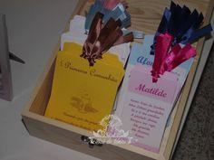 Baú de Ideias: Comunhão (Lembranças, Placards, Marcadores de Mesas, etc)