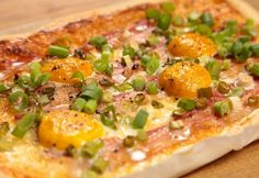 Hawaiian Pizza, Vegetable Pizza, Quiche, Bacon, Vegetables, Breakfast, Recipes, Food, Morning Coffee