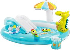 Spielzeug, Sport & Outdoor, Strand- & Badespielzeug, Planschbecken Swimming Pool Size, Swimming Pool House, Cool Swimming Pools, Baby Pool, Kid Pool, Pool Weights, Water Play, Pool Water, Kids Water Toys