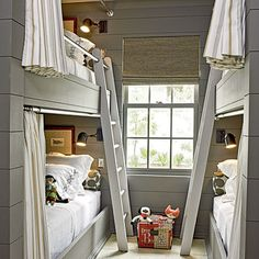 2012 | Rosemary Beach | Boys' Bunk Room | Designer: Urban Grace Interiors