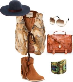 """Bohemian winter"" by anapopa on Polyvore"