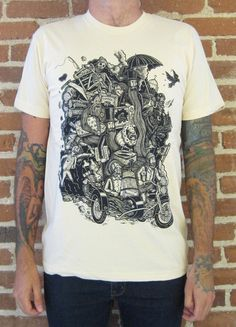 GOING NOWHERE on creme by timberps on Etsy, $24.00