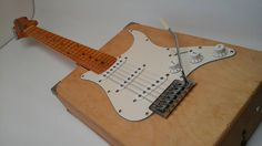 Artist's Box Electric Guitar with Whammy by RainyDayInstruments