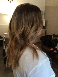 Balayage Hair color Olaplex