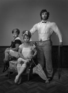 Children Bodybuilders - 12 Creative Photo manipulation works by Photographer Kurt Stallaert