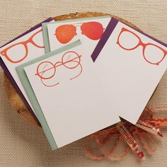 Regas Stationery - sharing my love for glasses! ♥