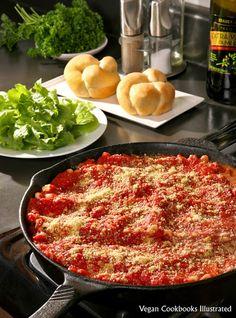 Vegan Skillet Lasagne from the cookbook Quick-Fix Vegan
