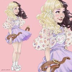 💧Milk and Cookies💧 'Pacify Her' is next ~ Melanie Martinez Anime, Melanie Martinez Drawings, Crybaby Melanie Martinez, Celebrity Drawings, Wow Art, Cry Baby, Celebs, Celebrities, Favorite Person