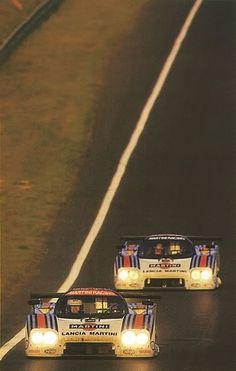 Le Mans 1984, Lancia Martini's.