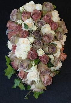 Flowers, Pink, Bouquet, Brown, Gold, The flower company