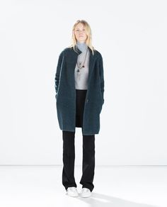 Image 1 of MOHAIR COAT from Zara