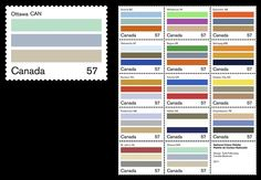National Colour Palette of Canada