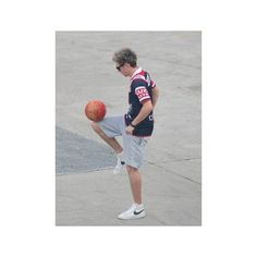 One Direction's Niall Horan And Louis Tomlinson Play Soccer Backstage... ❤ liked on Polyvore