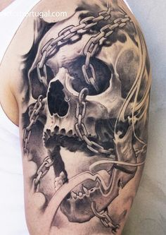 www.worldtattoogallery.com/skull-tattoo