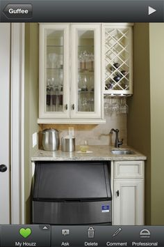 Small & Simple Wet bar