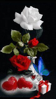 MIS CREACIONES 2018: Gif rosas Beautiful Flowers Wallpapers, Beautiful Rose Flowers, Love Rose, Amazing Flowers, Love Heart Gif, Love You Gif, Love You Images, Beautiful Love Pictures, Beautiful Gif