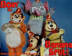 Another favorite Saturday morning cartoon show of mine from the 70's. One banana, two
