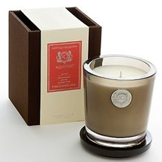 Aquiesse Pomegranate Sage Large Soy Candle - Proprietary soy wax blend made with organic soybean oil and carefully selected lead-free wicks. 10 oz. On sale for $29.99.