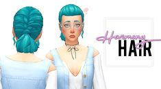 """sssvitlans: """" imvikai: HARMONY HAIR BY VIKAI 400+ Followers Gift! I'm so happy :D I can't believe 400+ of you decided to follow me and support my creations, so here's a hair! I originally made this..."""