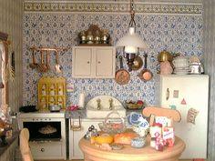 dollhouse kitchen   Flickr - Photo Sharing!