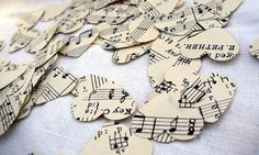 These wedding ideas definitely hit all the right notes! :) http://www.womangettingmarried.com/10-wedding-ideas-music-theme/