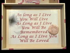 Miscarriage or Infant Loss Angel Baby Memory Box by AlwaysWithMe, $25.00