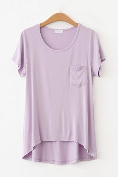 Candy Color Loose Shirt