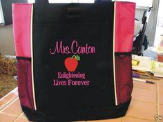 1f13b9284c8b Lori LangverTeacher Gifts · Tote Bag Purse TEACHER GYM SPORT OFFICE AIDE  SCHOOL COLLEGE ELEMENTARY MIDDLE  PORTCO  Tote