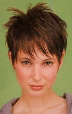 when you yourself have thin hair, you could scared of having pixie cut because it will appear flat. Nevertheless when you decide on just the right pixie haircut you may look fantastic! Check these Pixie Haircuts for Fine Hair you… Continue Reading → Haircuts For Thin Fine Hair, Oval Face Haircuts, Thin Hair Cuts, Short Thin Hair, Short Layered Haircuts, Very Short Hair, Short Hair With Layers, Cute Hairstyles For Short Hair, Pixie Hairstyles