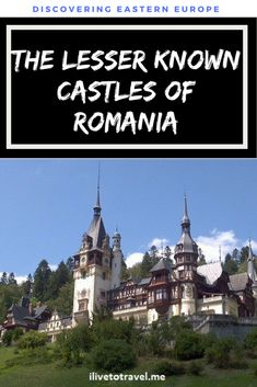 Two lesser-known and beautiful castles in Peles and Pelisor Castles - worth the detour! World Travel Guide, Europe Travel Guide, Europe Destinations, Travel Guides, Travelling Europe, Travel Info, Backpacking Europe, Travel Log, Family Travel