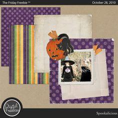 Spookalicious - Digital Scrapbooking Freebie