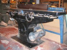 """Photo Index - John A. White Co. - 12"""" Jointer w/ door   VintageMachinery.org"""