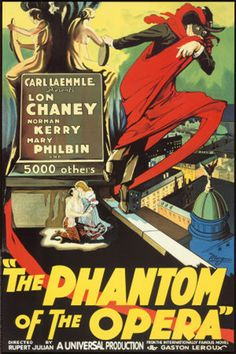 "Lon Chaney  ""Phantom of the Opera"" My fav because it stays true to the novel"