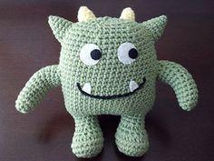 Hug Monster free crochet pattern - 10 Free Monster Crochet Patterns- The Lavender Chair
