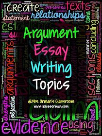 What's a good topic for an argumentative