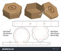 Find Box Packaging Die Cut Template Design stock images in HD and millions of other royalty-free stock photos, illustrations and vectors in the Shutterstock collection. Packaging Nets, Takeaway Packaging, Cardboard Packaging, Paper Packaging, Box Packaging, Packaging Design, Box Templates Printable Free, Paper Box Template, Cardboard Box Crafts