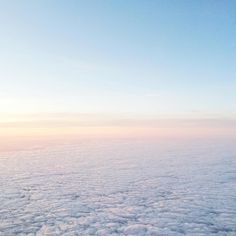 http://isabellathordsen.dk/ - When I was flying back to London from my Easter Holiday in Denmark. So stunning above the clouds!