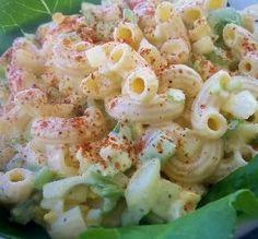 "Sweet Amish Macaroni Salad: ""Absolutely the BEST macaroni salad! The mayo mixture is what makes it so delightful — that bit of sweetness."" -SavannahStar Amish Macaroni Salad, Best Macaroni Salad, Dill Pickle Relish, Celery Rib, Key Food, Mayonnaise, Pasta Salad, Pickles, Shrimp"