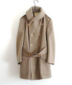 LILY1ST VINTAGE 1930-1940'S US MILITARY MACKINAW COAT http://floraison.shop-pro.jp/?pid=84729935