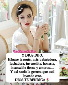 Y DIOS DIJ Life Experience Quotes, Bible Quotes, Gods Love, Religion, Amor, Spanish, Gowns, Woman Of God, Pictures Of God
