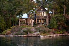 Lake Burton Home- Atlanta, Georgia