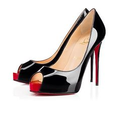 2240fd034a39 New Very Prive Black Patent Leather Item  Shoes Type  New Very Prive 120 mm  Brand  Christian Louboutin Color  Black and Red Material  Patent Leather  Size  ...