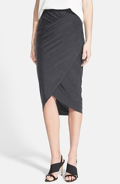 Trouvé+Wrap+Front+Skirt+available+at+#Nordstrom