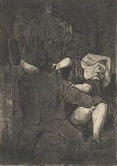 Otto Dix - Soldat und Nonne (Vergewaltigung)