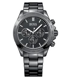 HUGO BOSS 1513197 ikon ceramic watch (Black Luxury Watches For Men 6b9f32d63ef