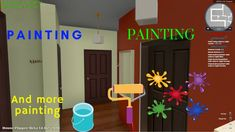 """HOUSE FLIPPER 3 osa """"Painting, painting and more painting"""""""