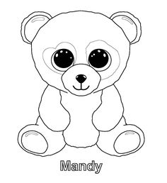 bunny beanie boo coloring pages - photo#18