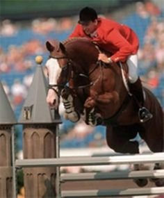 In the 90' I lived for show-jumping. I watched hours upon hours of footage and was glued to Euro Sport. The rider I followed the most at that time was Franke Sloothaak and his incredible mare, Weih...